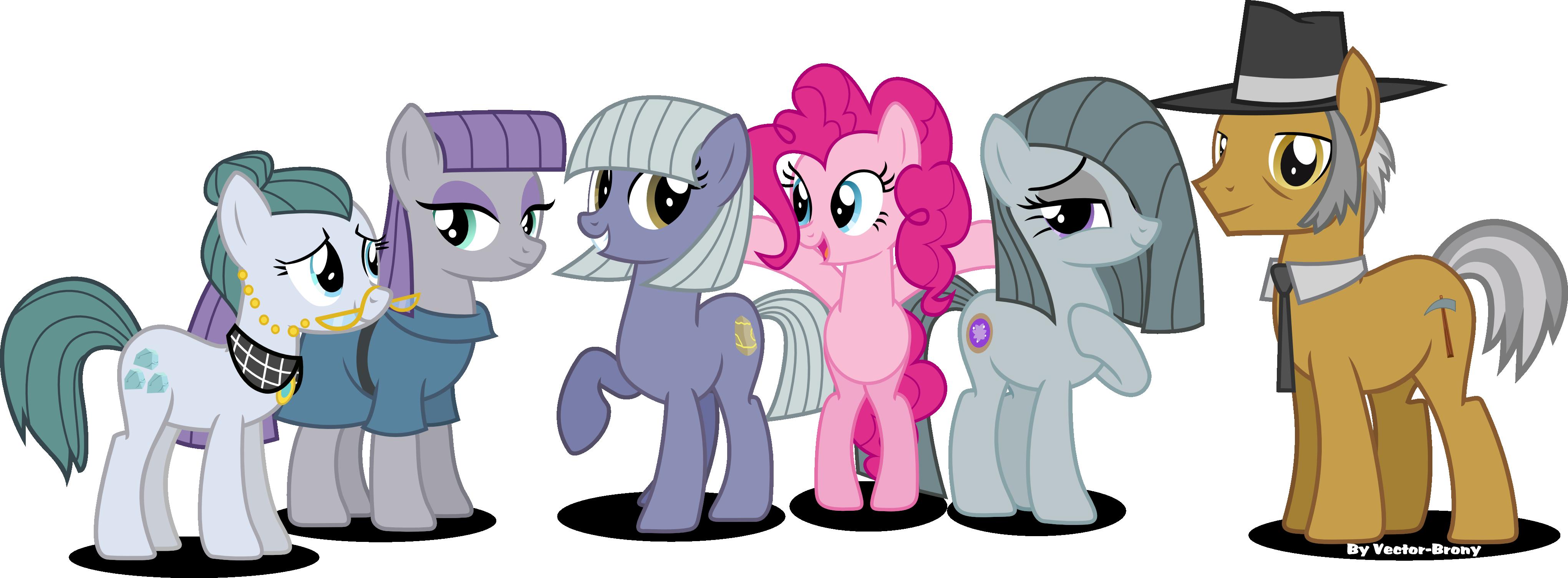 My little pony rarity family