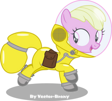 Puppy smiles (fallout Equestria Pink Eye's) by Vector-Brony