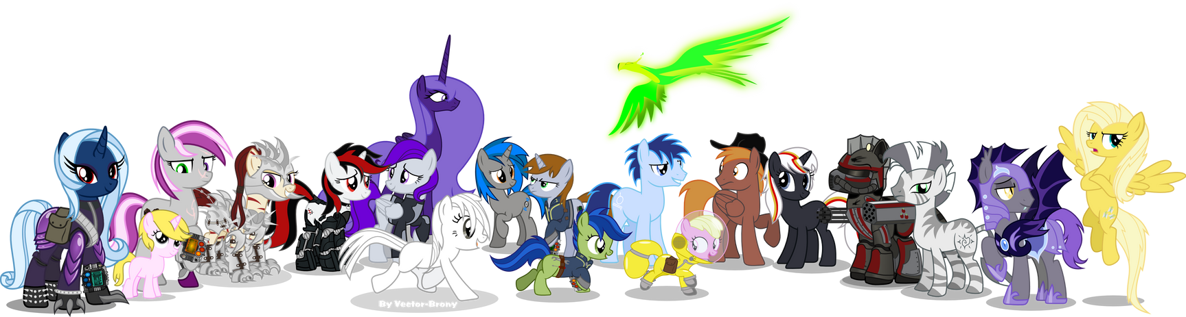 The Best Of The Wasteland by Vector-Brony