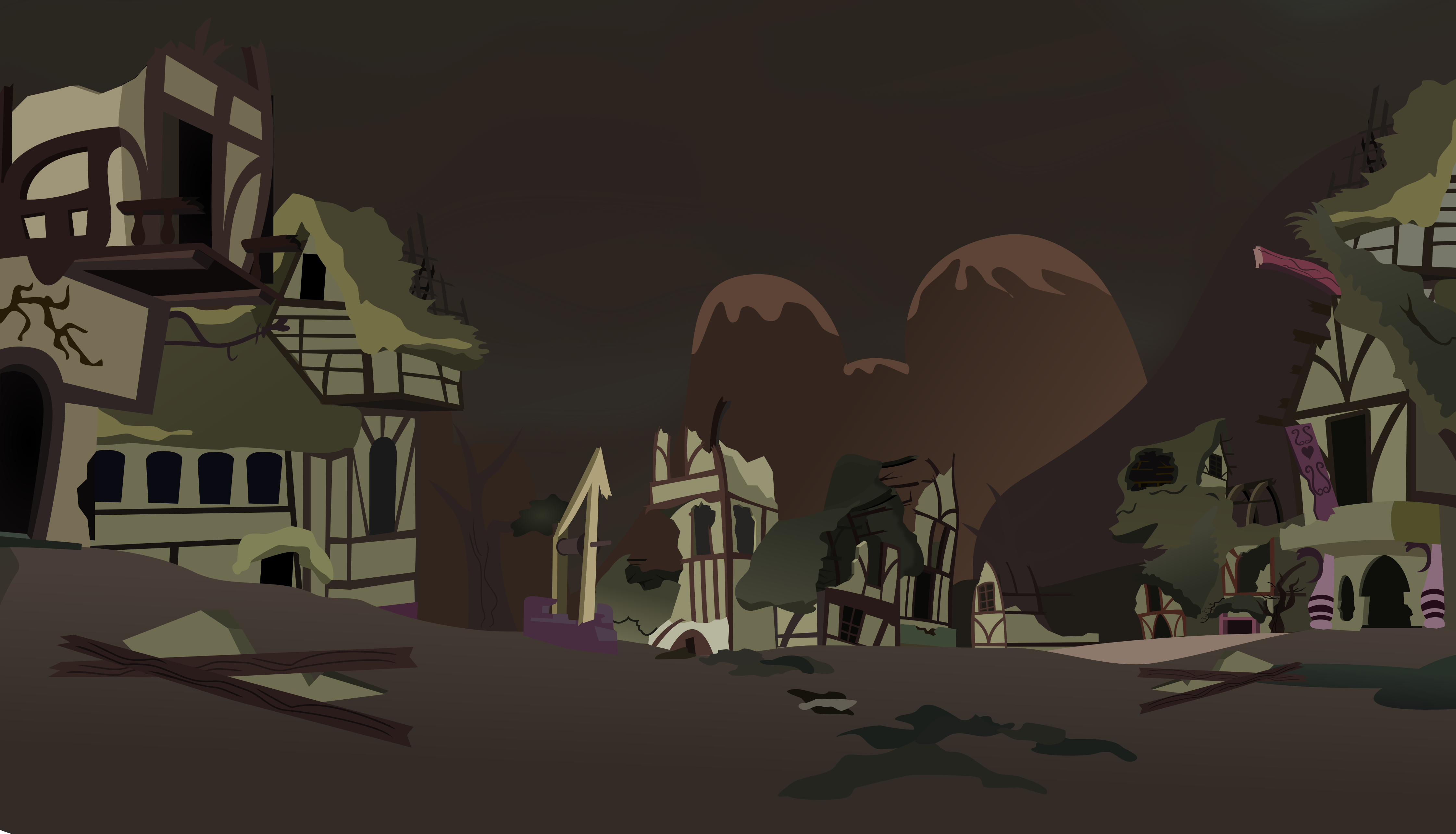 Ponyville Wasteland (fallout Equestria) By Vector-Brony On