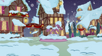 Ponyville in snow