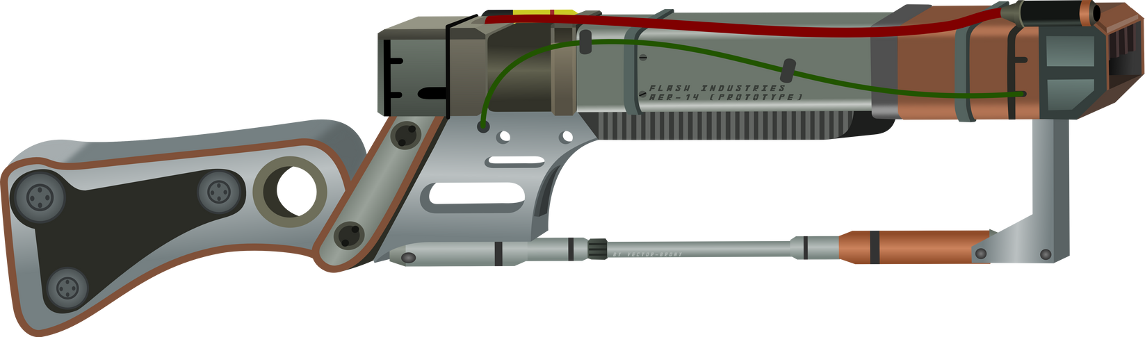 aer 14 prototype leo rifle project horizons by vector brony on