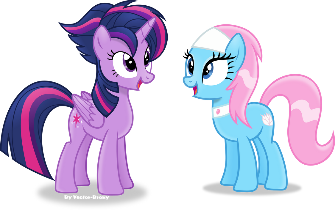 Twilights new mane style by Vector-Brony
