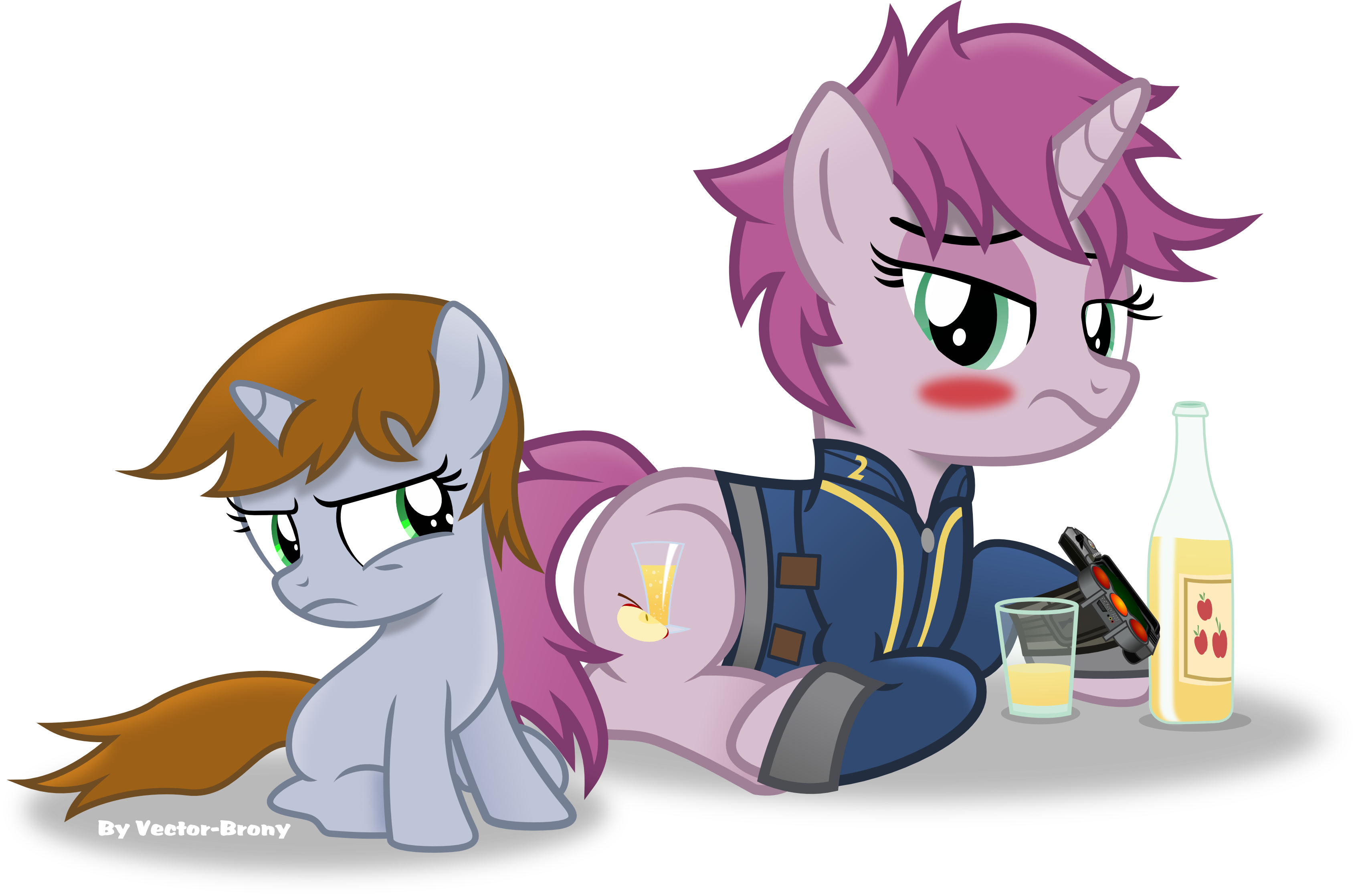 Little Pip And Her Mum By Vector Brony On Deviantart