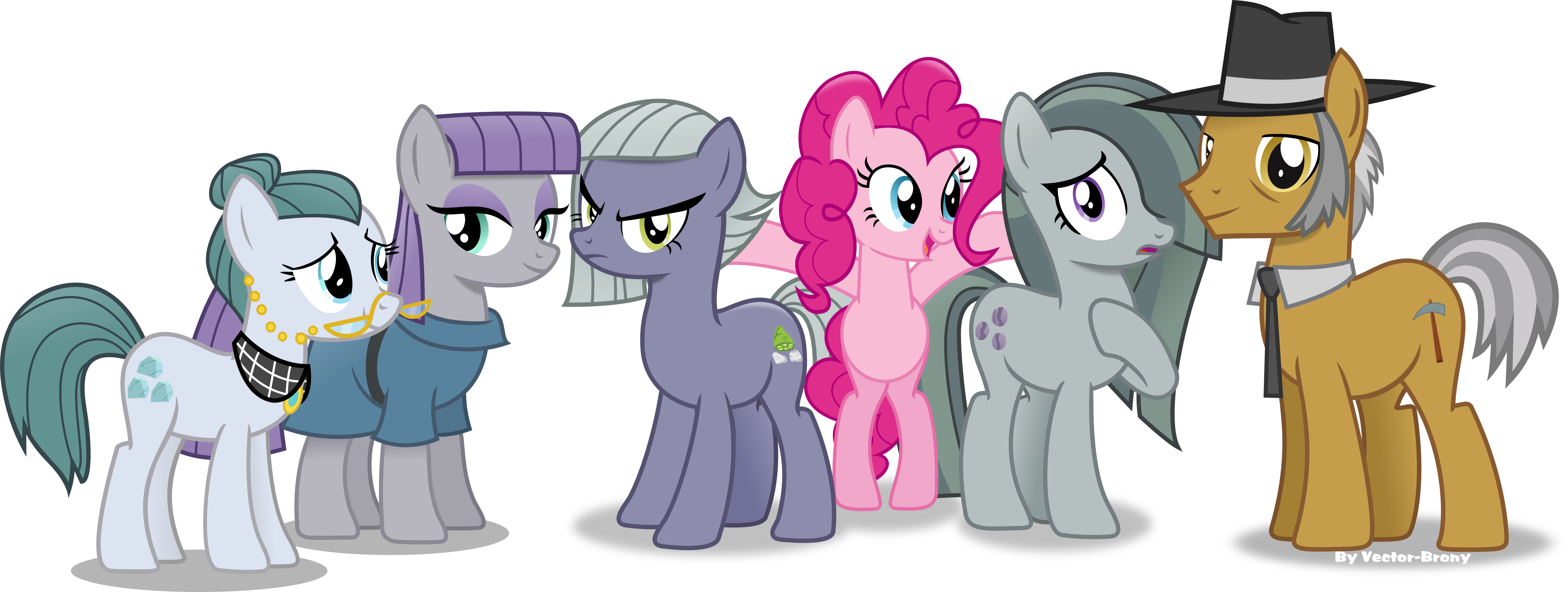 pinkie Pie's Family re-done----again!