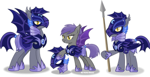 Nightmare moon's Guard by Vector-Brony