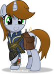 Littlepip happy