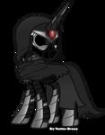 Dark alicorn