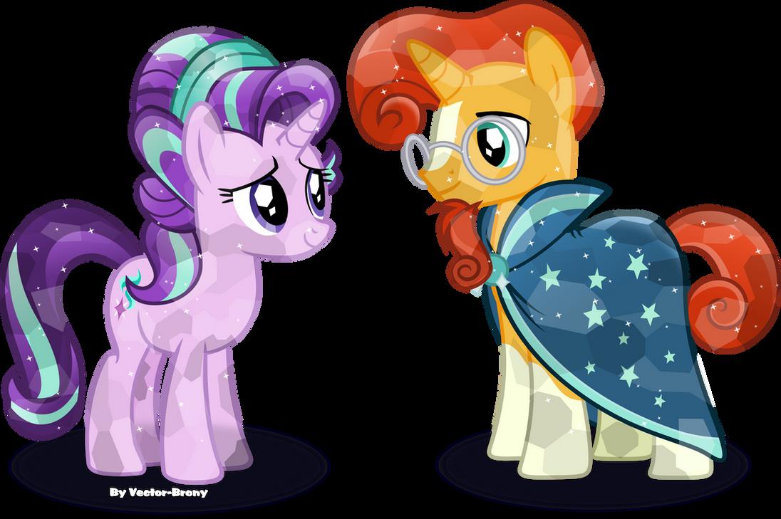 Crystal Starlight and Sunburst