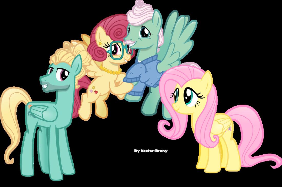 my little pony friendship is magic fluttershy parents