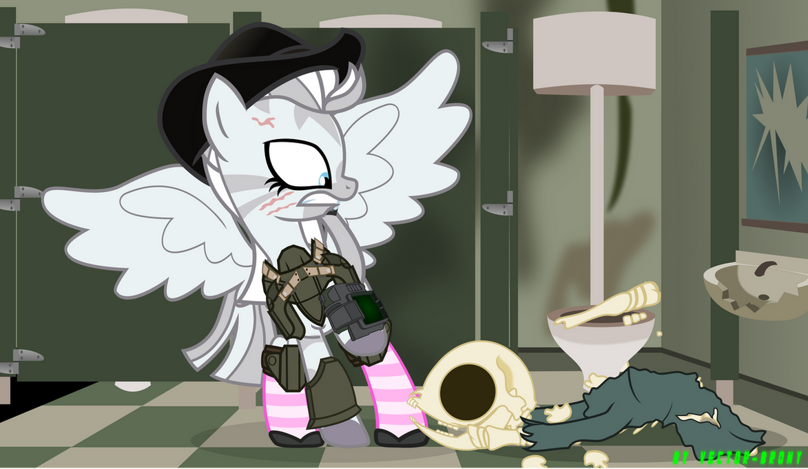 Scared Crystal Eclaire by Vector-Brony
