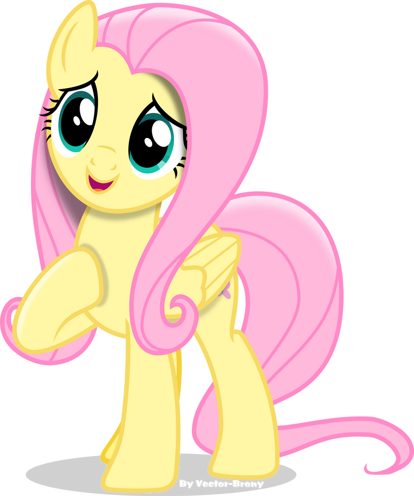 Cute Fluttershy by Vector-Brony
