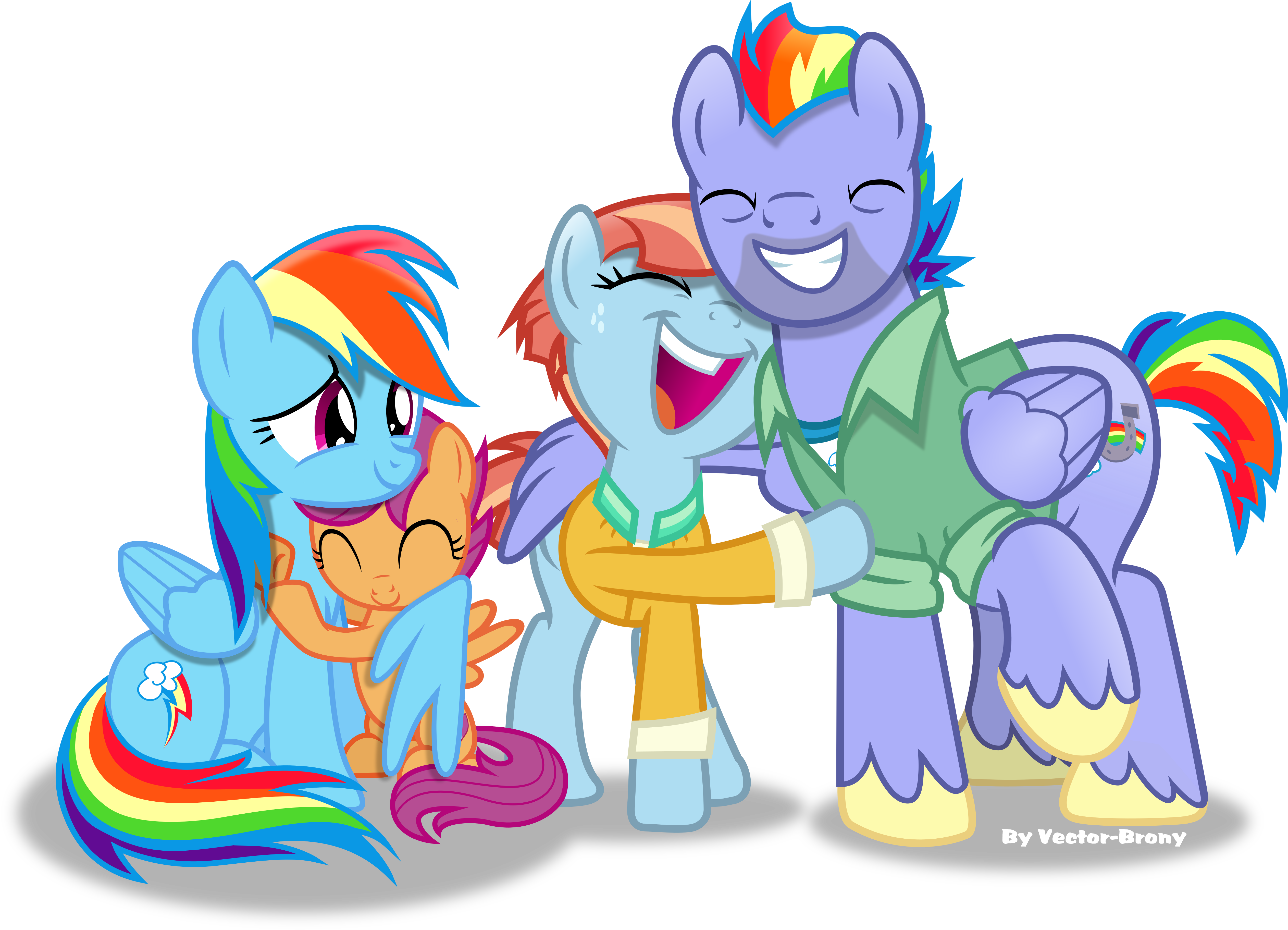 dashies family by vectorbrony on deviantart