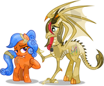 Crystal Dreamer and Vector-brony