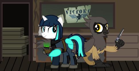 Dragonfire and Gina