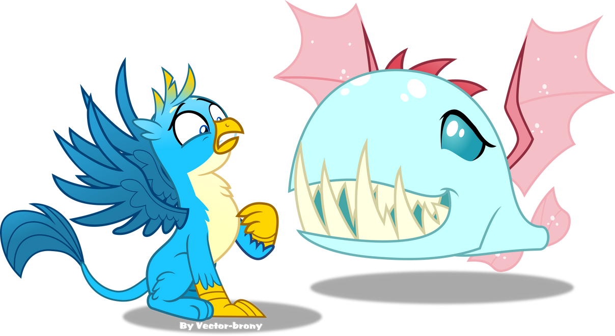 Gallus and Ocellus by Vector-Brony