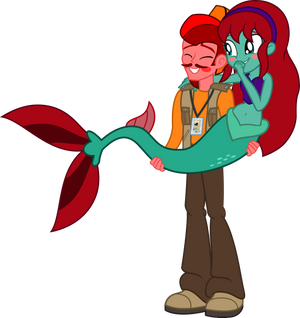 Jasper Pie and Harmony Swimmer