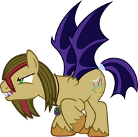 Vector-Brony Bat by Vector-Brony