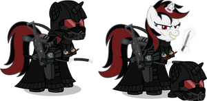 The Mare in Black (Fallen Blackjack)
