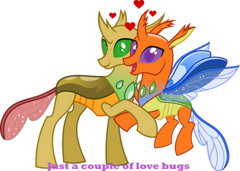 Love bugs by Vector-Brony
