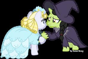 Glinda and Elphaba