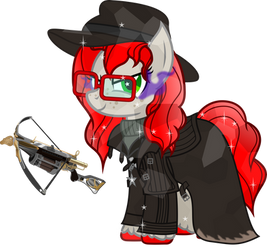 Aria D Helsing (Halloween commission)