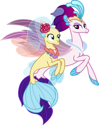Queen Novo And Princess Skystar