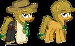 Sadie Adler pony design