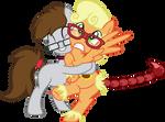 Pick Fairy Earthpony Hug