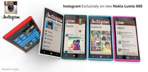 Nokia Lumia and Instagram Concept