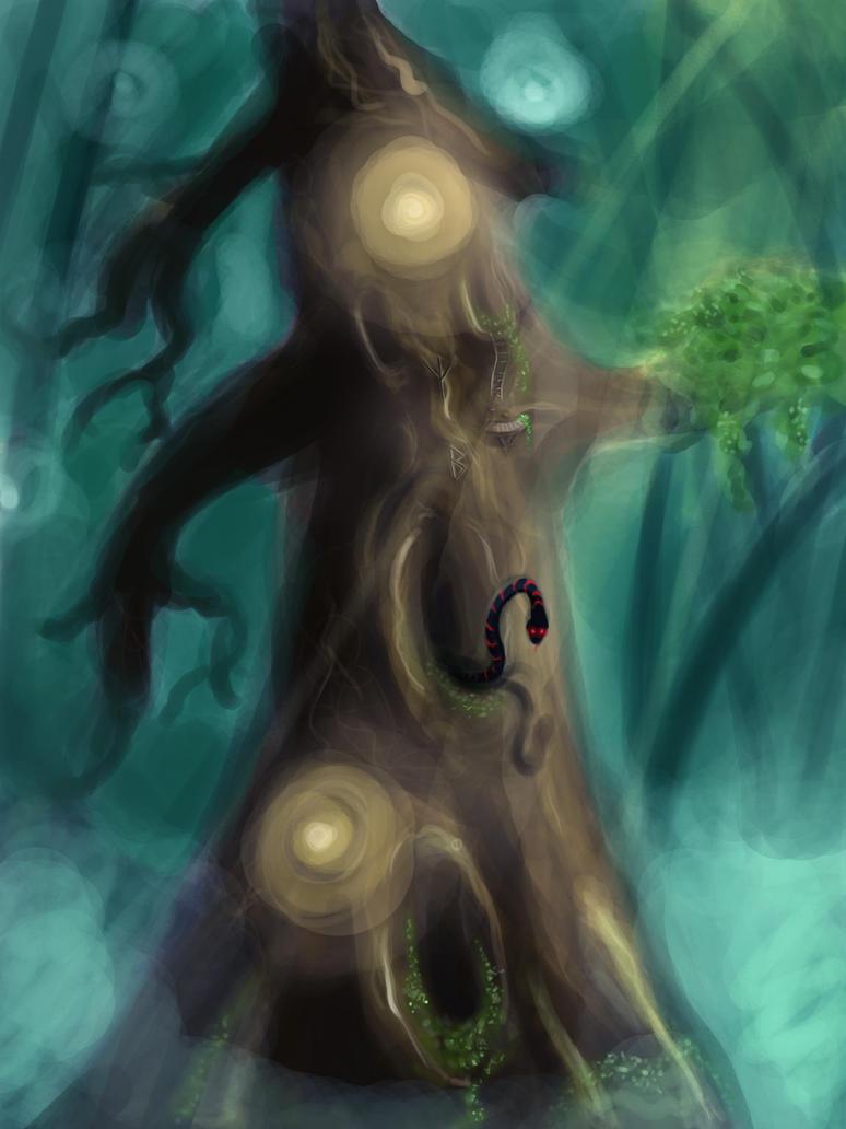 magic magic tree by ArcadiaX