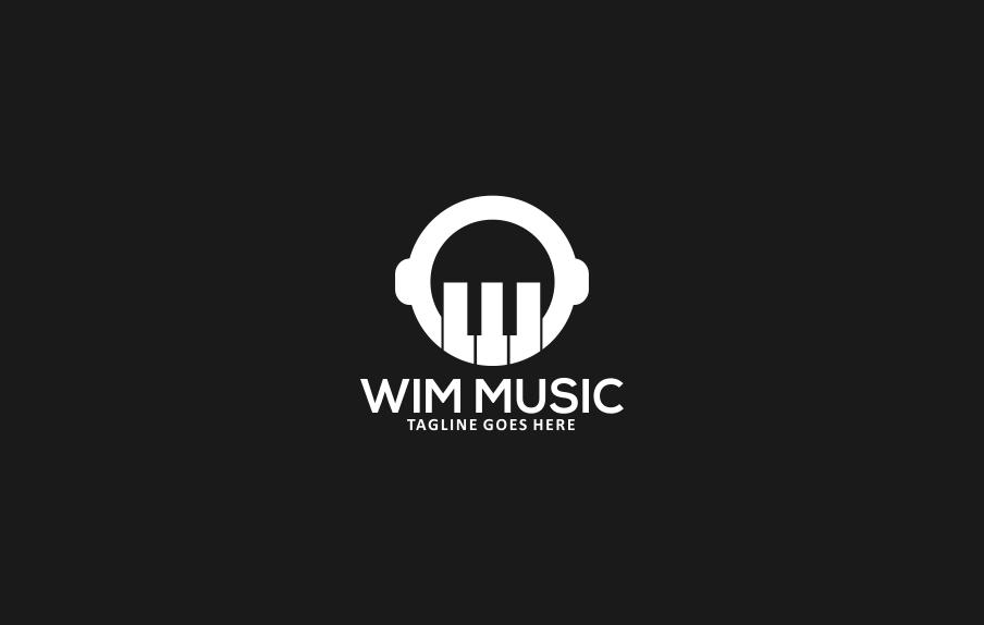 Music Studio Logo Template