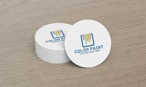 Color Paint Logo template