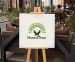 HandTree Logo Template