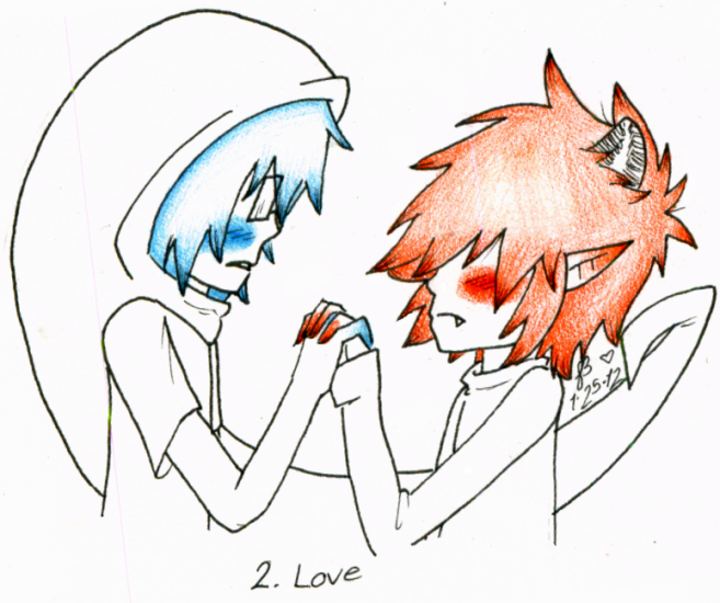 2. Love by cheriboo