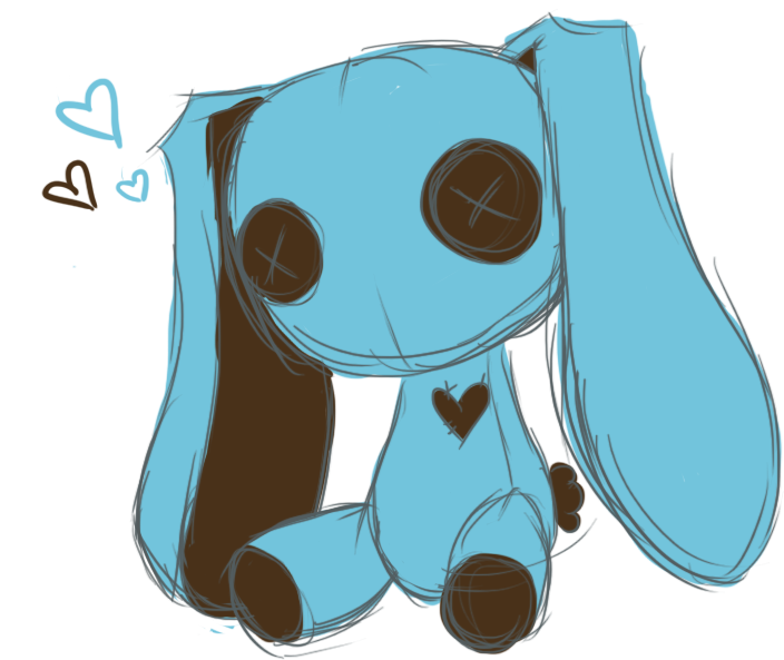 bunny by cheriboo