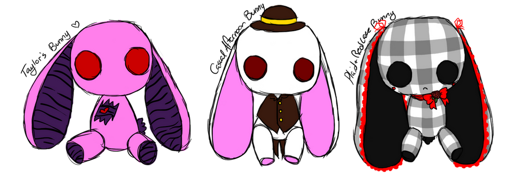three designs by cheriboo