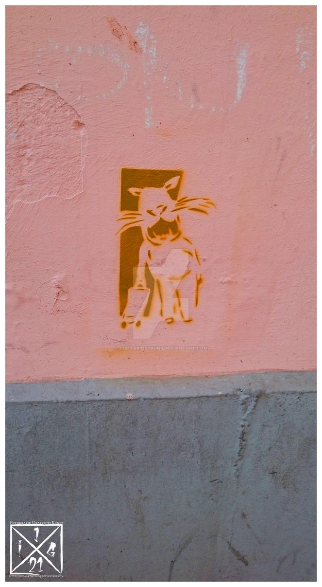Stencil Hippo by JIGdaArtist6UN5