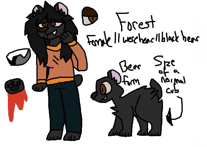 Forest ref by 401kittysaj