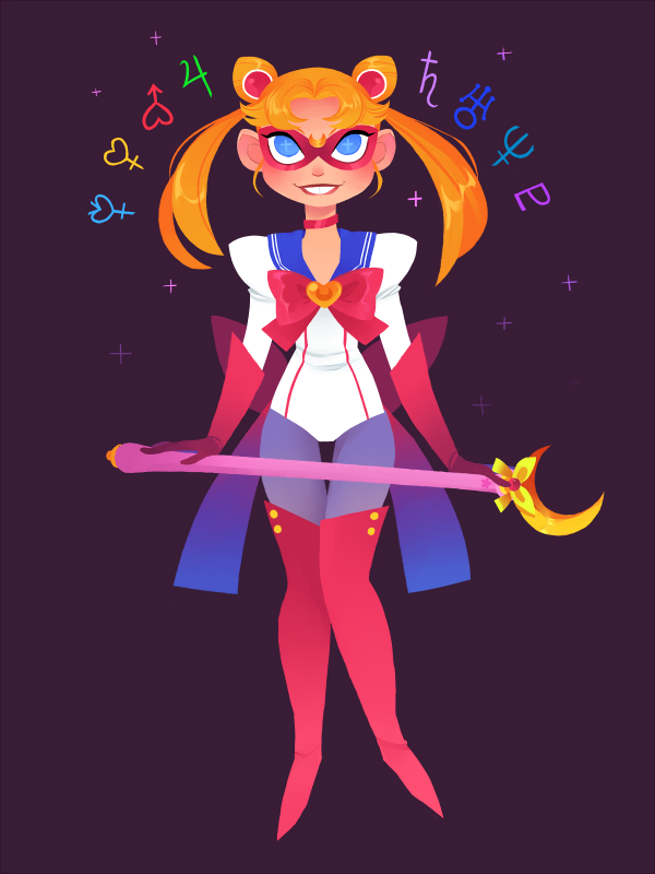 Sailor Moon by Enkaaay