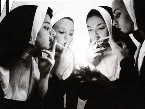 what if nuns are bad girls ?