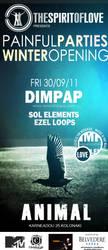 DIM PAP2 - ANIMAL Club - Flyer by Feth