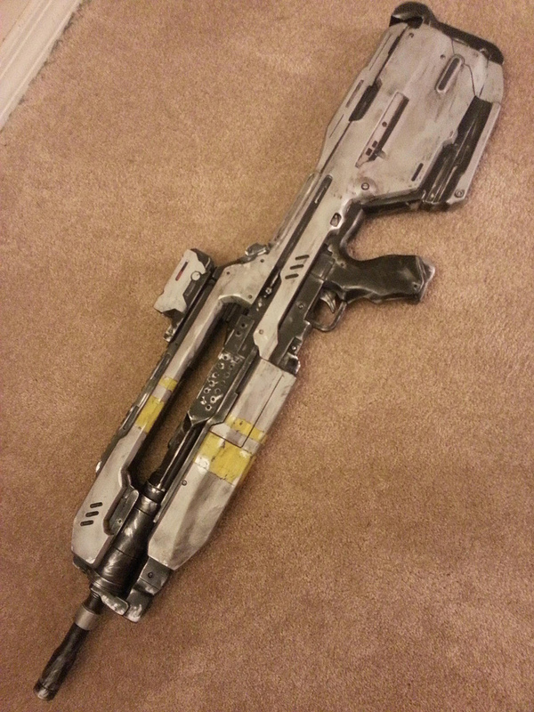 Halo 4 BR85HB SR Battle Rifle(complete) by Joseugai