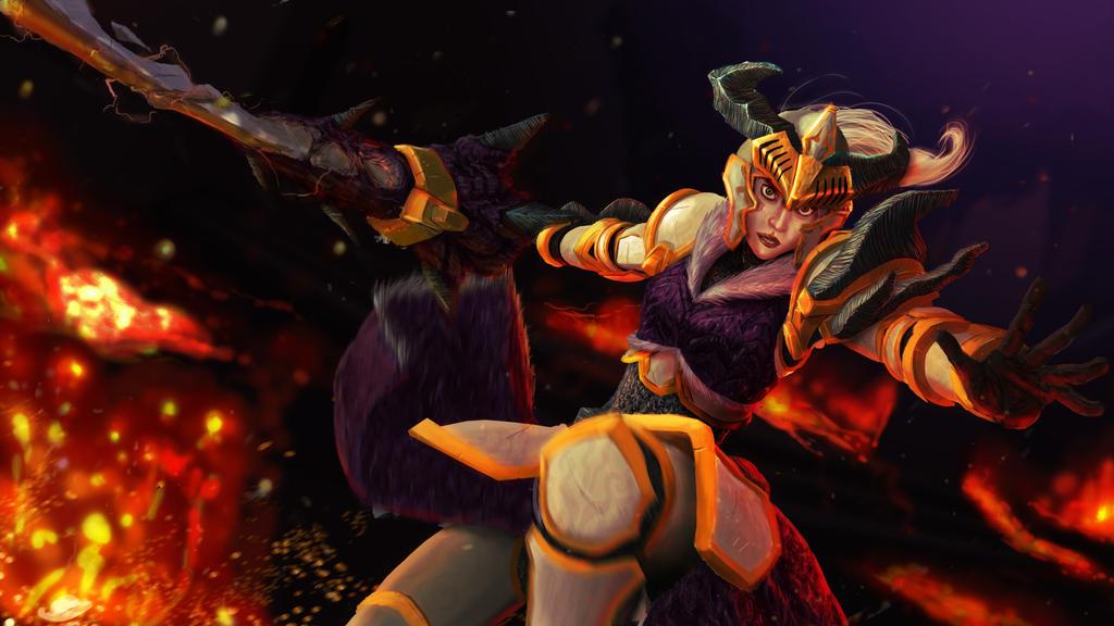 Dragonslayer Riven by Joseugai