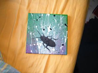 Stencil Roach by Mr-Snuff