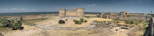 Fortress in Akkerman. by wojtar
