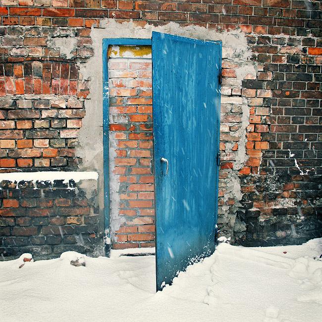 Door is open
