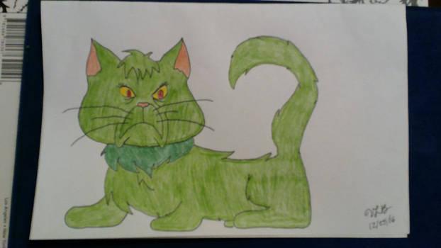 Grinch Cat