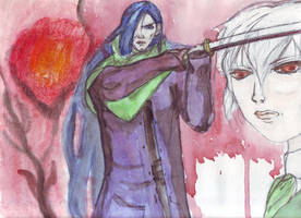 Armand et Amael by LiaVilore