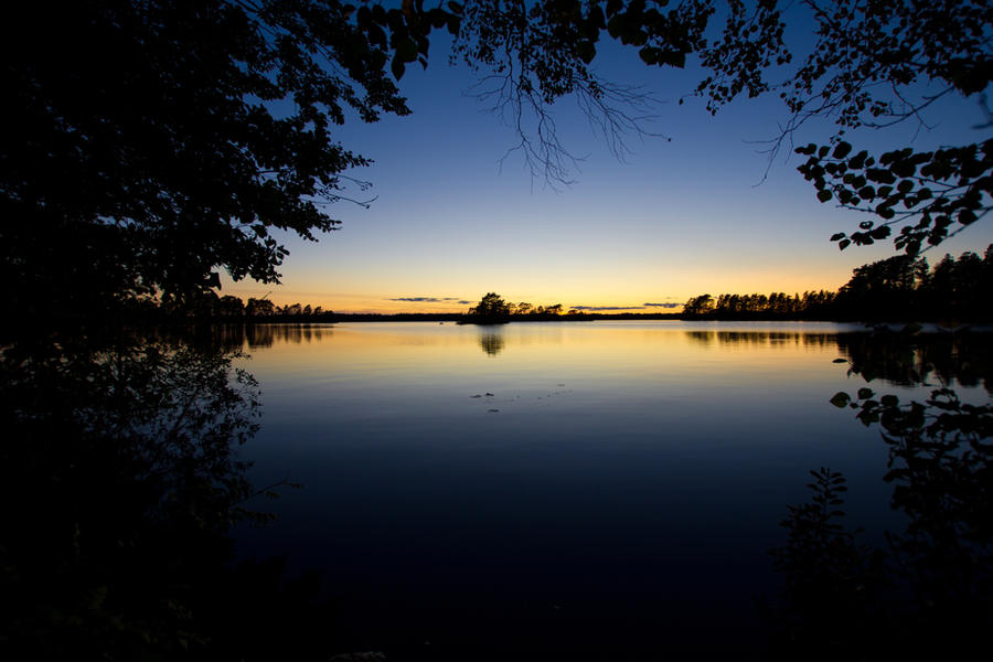The Darkframed Lake by LordHenkutt